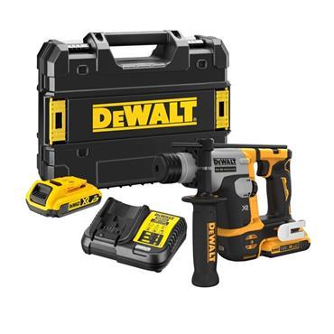 DEWALT DCH172D2 18V XR Brushless 16mm SDS-Plus Hammer Drill, 2 x 2.0Ah Batteries