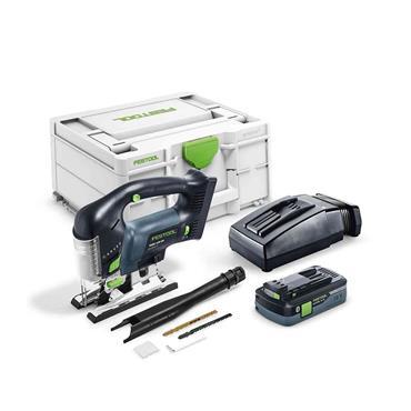 FESTOOL576533 CARVEX PSBC 420 HPC 18V Cordless Jigsaw, 1 X 4.0 Battery