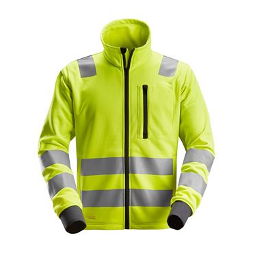 Snickers 8036 High-Vis Full Zip Class 2/3 Jacket  Yellow