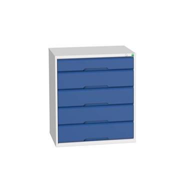 Bott 16925117.11 5-Drawer Blue Verso Cabinet