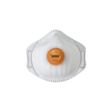 Alpha Solway 3020V Metal Free FFP2 Disposable Respirator - 10 Pack