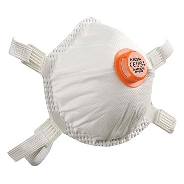 Alpha Solway 3030V Metal Free FFP3 Disposable Respirator - 5 Pack