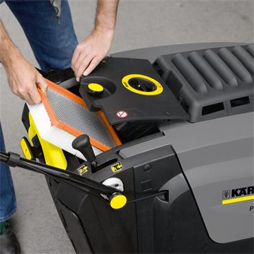 Karcher KM 75/40 W Bp 40 Litre Vacuum Sweeper