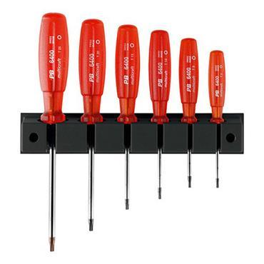 PB Swiss Tools 6440 Torx 6 Piece Multicraft Screwdriver Set
