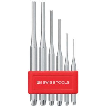 PB Swiss Tools PB 750B 6 Piece Parallel Pin Punch Set