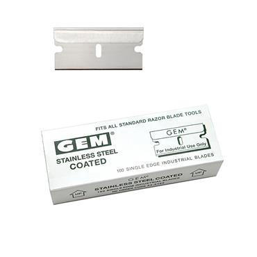 Personna 62-0165 100 Piece Gem Coated Single Edge Blade