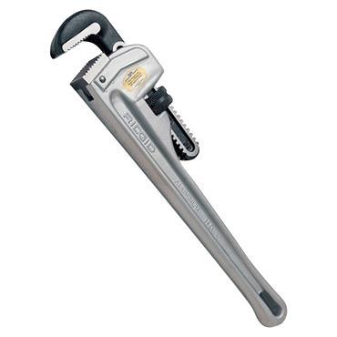 """Ridgid 31090 10"""" Aluminium Straight Pipe Wrench"""