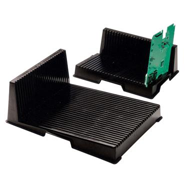 CITEC VMK1822 Black Small Conductive L-Shaped PCB Rack