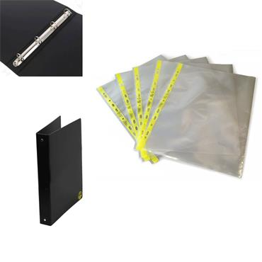 Citec A4 ESD Document Wallets & Ring Binder