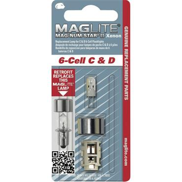 Maglite LWSA601 6 Cell Replacement Bulb