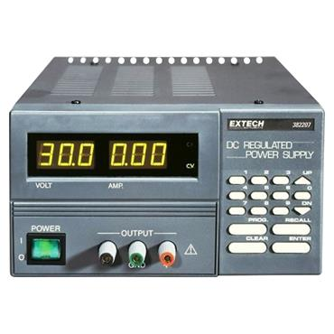Extech 382207 Programmable DC Power Supply
