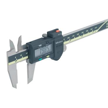 "Mitutoyo 50017230 0-200mm/0-8"" AOS Absolute Digimatic Caliper With Thumb Roller"