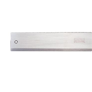Starrett 385 Steel Straight Edge with Bevel Edge