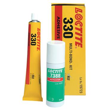 Loctite 330 Structural Acrylic Adhesive and Kit with Activator
