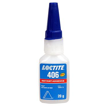 Loctite 406 20ml Plastic and Rubber Clear Instant Adhesive