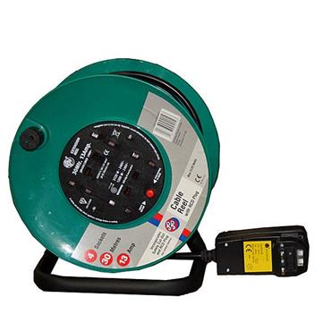 JO JO 820061 240 Volt 30m Heavy Duty Open Extension Reel