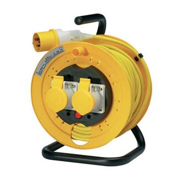 JO JO 22516 110 Volt 25m Heavy Duty Open Extension Reel