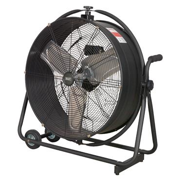 Sealey HVF24S 230 Volt Industrial High-Velocity Orbital Drum Fan
