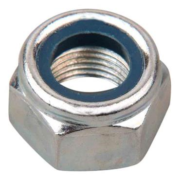 "CITEC Nylon Insert Nuts:- Metric Zinc Plated Type ""P"""