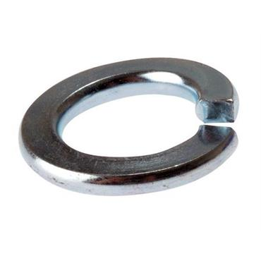 CITEC  Spring Washers, Single Coil:- Metric Zinc Plated