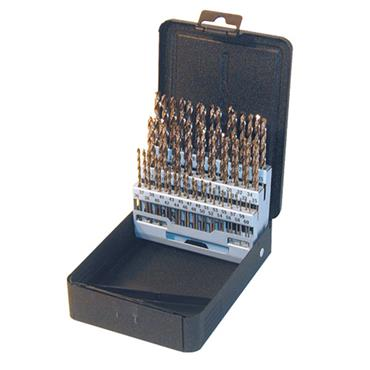 PTD C29R10CO 29 Piece Cobalt Jobber Drill Set