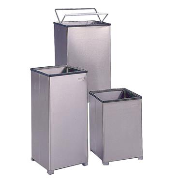 RUBBERMAID  Stainless Steel Receptacles