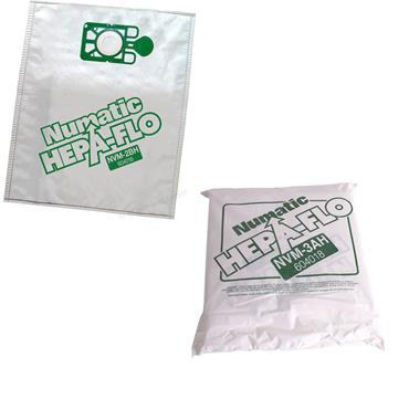 NUMATIC Hepaflo Dust Bags for MFQ 370/470 Series