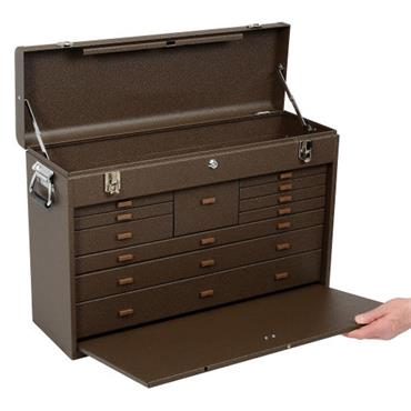 Kennedy 52611 11-Drawer Brown Machinist Tool Cabinet