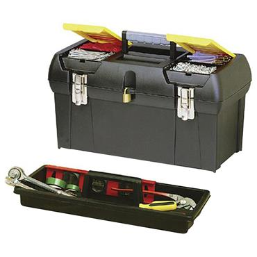 Stanley 488 x 259 x 249mm Tool Box with Tray - 019151M