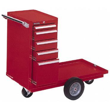 Kennedy 5-Drawer Smooth Red Versa Carts