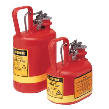 Justrite Flammable Polyethylene Steel Safety Can