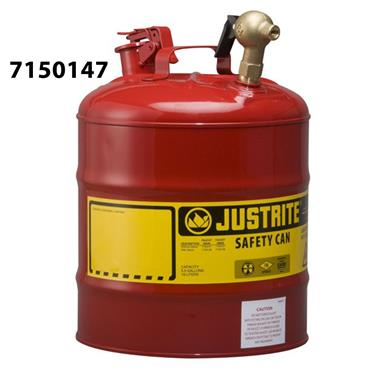 Justrite 19 Litre Laboratory Safety Can