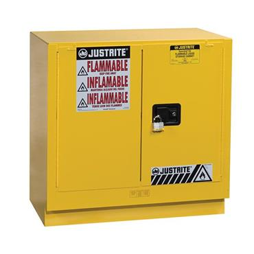 Justrite 8923 EX Undercounter Yellow Safety Flammable Cabinet