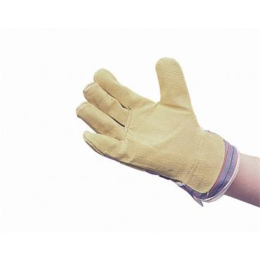 CITEC Standard Pig Split Yellow Rigger Gloves