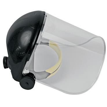 JSP AFA061 Black Browguard Face Shield