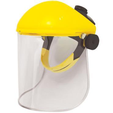JSP AFA011-130-200 Yellow Browguard Face Shield