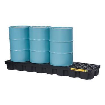 Justrite  28631 Drum Pallet Inline EcoPolyBlend™