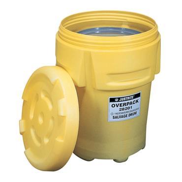Justrite 28001 Polyethylene Salvage Drum