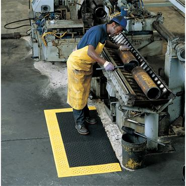 NO TRAX 520 Cushion-Lok Safety / Anti-Fatigue Matting - Wet & Dry Area