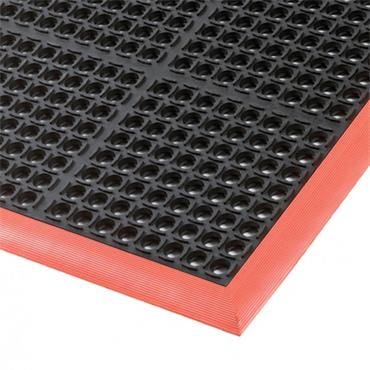 NO TRAX 549 Diamond Plate Safety / Anti-Fatigue Matting - Dry Area