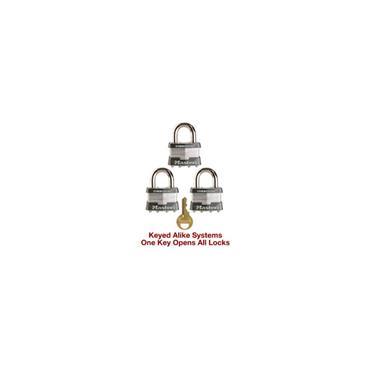 Masterlock 410 Zenex Keyed-Alike Safety Padlock Assortment