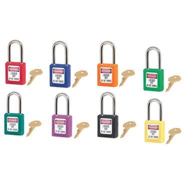 Masterlock 410 Zenex Master Keyed Safety Padlock Assortment