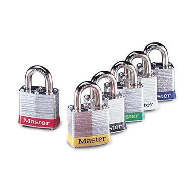 Masterlock 3MK Master Keyed Safety Padlock
