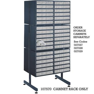 RAACO Free Standing Rack Only (no cabinets)