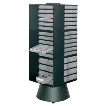 RAACO DC250 Series Rack & Carousel System