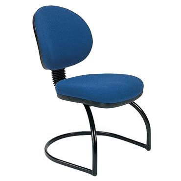 Rhodes + Scholes C7 Blue Visitor's Chair