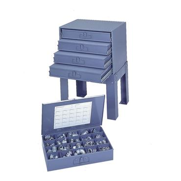 DURHAM Small Scoop Compartment Boxes