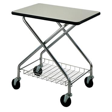 CITEC 272233 90.7kg Wire Office Cart with Laminate Surface