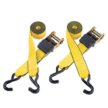 Clarke CHT756 3m Heavy-Duty Ratcheting Tie Down - 2 Pack