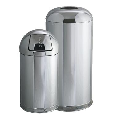 RUBBERMAID  Steel Waste Containers
